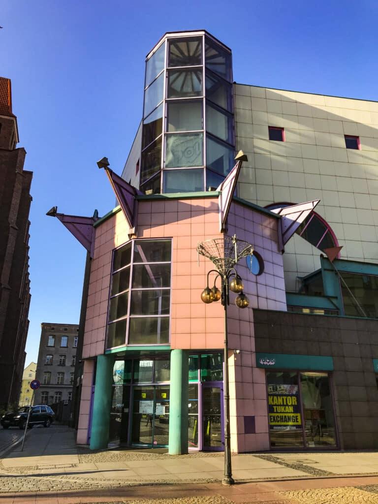 Architektur in Breslau Polen