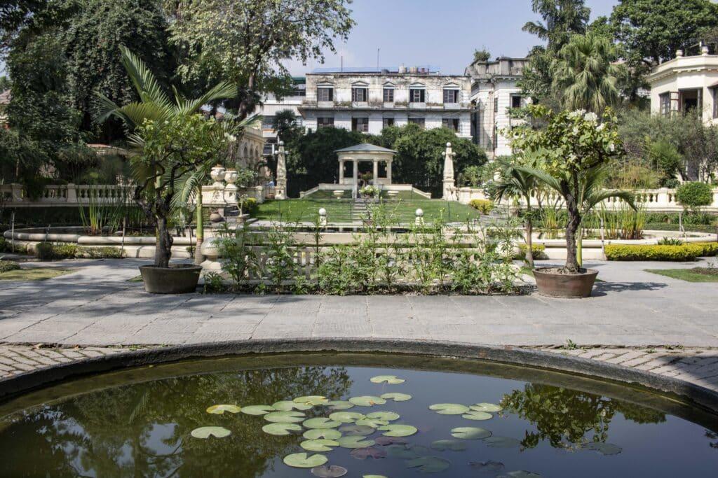 Garden of Dreams Kathmandu _ein ruhiger Ort