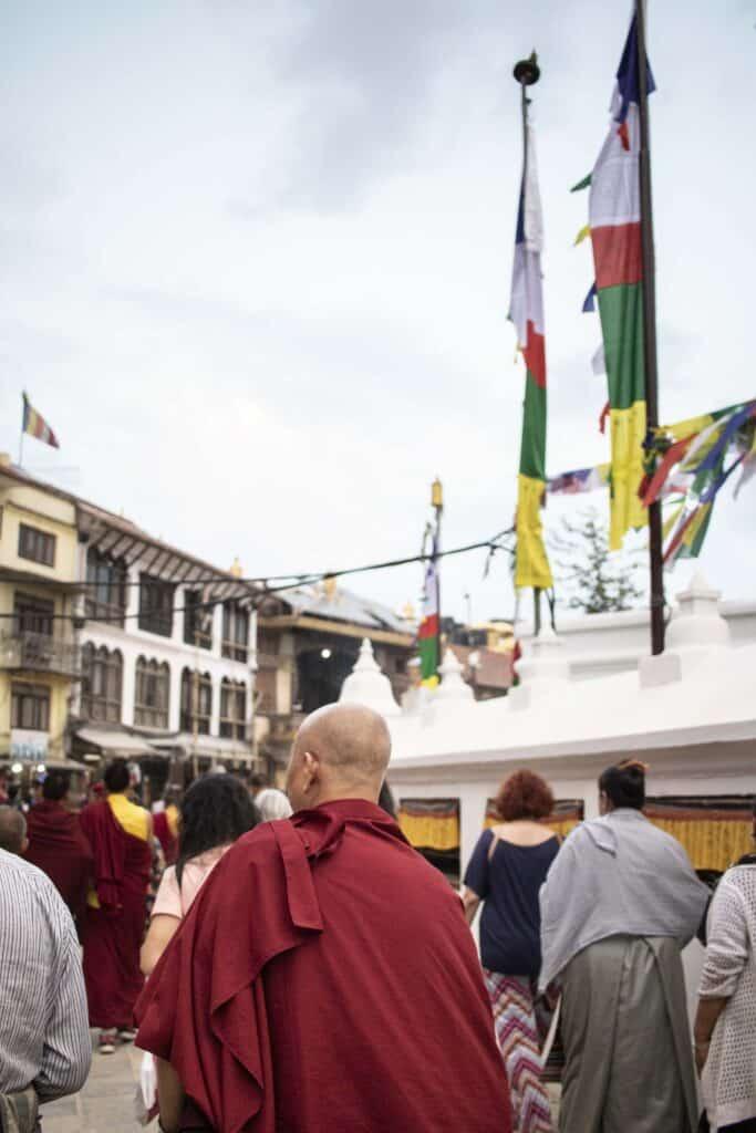 Boudhanath Tempel Kathmandu Sehenswürdigkeiten