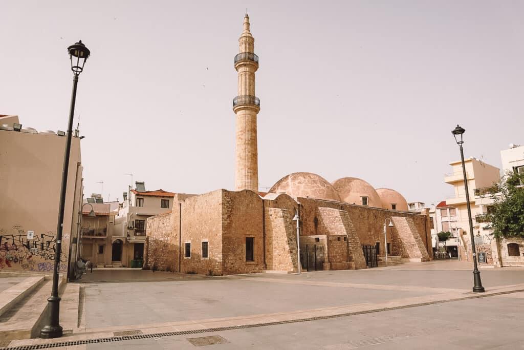 Rethymno Sehenswürdigkeiten Moschee