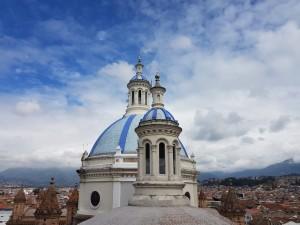 Ecuador Sehenswürdigkeiten- Kathedrale Kuppel