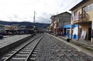 Sehenswürdigkeiten Ecuador Rundreise_Guamote Eisenbahntrasse