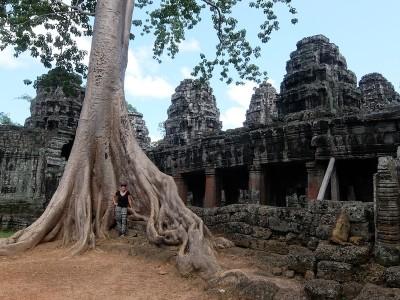 PASSENGER X Sabbatical Interview mit Sandra Angkor Wat Kambodscha