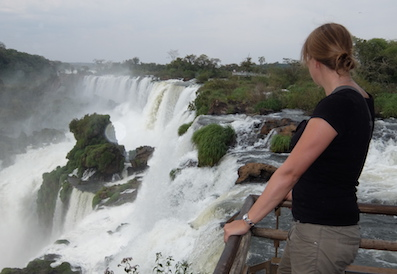 PASSENGER X Sabbatical Interview mit Sandra Iguazu Wasserfaelle Argentinien
