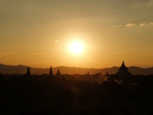 PASSENGER X Sabbatical Interview mit Sandra Myanmar Sunset Bagan