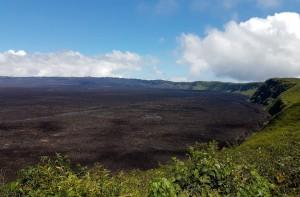 Sehenswürdigkeiten Ecuador Rundreise_Isabella Galapagos_Sierra-Negra-Volcano