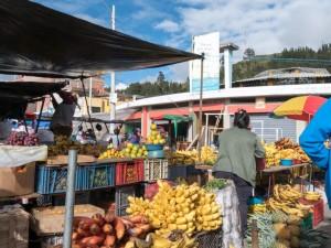 Sehenswürdigkeiten Ecuador Rundreise_Guamote Wochenmarkt