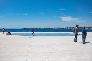 Zadar Reise, der Sonnengruß_ PASSENGER X