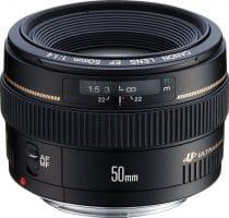 Canon EF 50mm 1:1.4 USM (58 mm Filtergewinde) Objektiv*