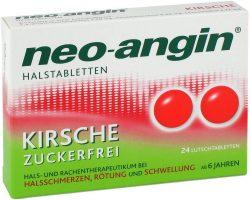 Tabletten gegen Halsschmerzen*