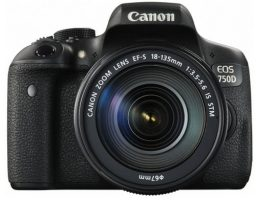 Canon EOS 750D SLR-Digitalkamera